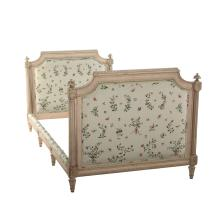 Louis XVI style painted day bed