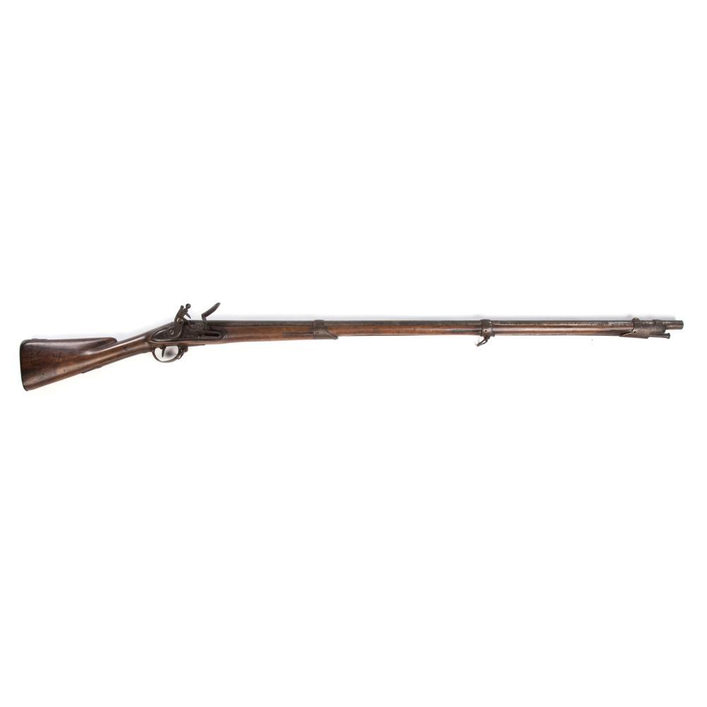"Charleville Musket, 1775, Marked ""United States"""