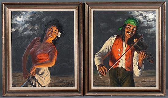 Fritz Muller-Schwaben, German, 1879-1957,