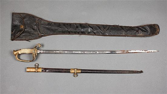 United States Navy officer's sword