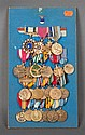 [United States] Display board containing 24 medals