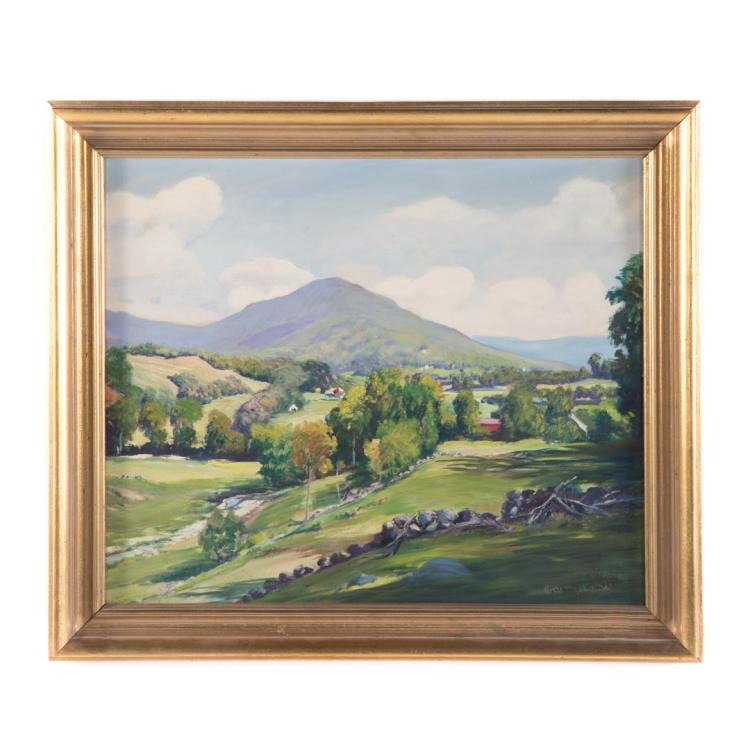 Gilbert haven smith vermont meadows oil for Alex cooper real estate auctions