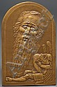 Louis Chatel Rosenthal (Russian/American, 1888-1964). bronze plaque, Louis Rosenthal, Click for value