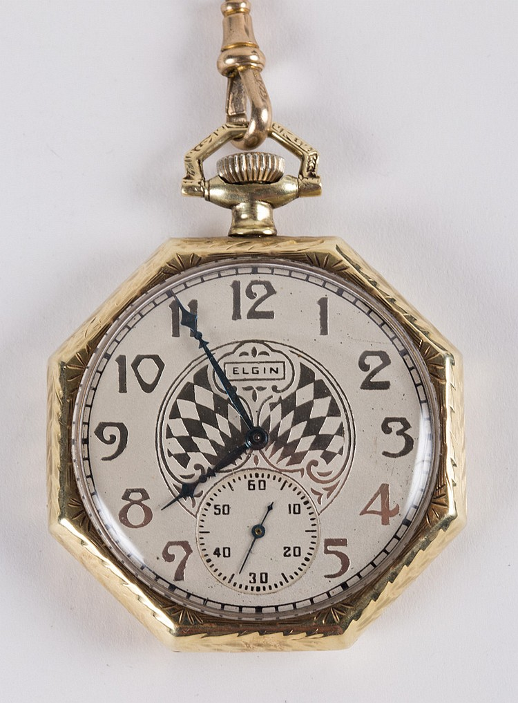how to use a pocket watch chain