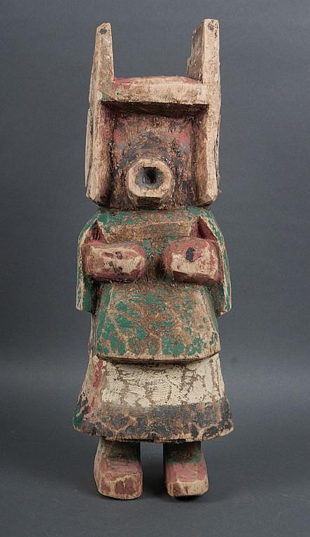 Hopi carved and painted cottonwood kachina doll
