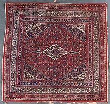 Bibikabad rug, approx. 6.11 x 7.3
