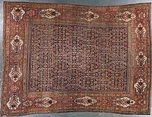 Antique Bijar carpet, approx. 11.2 x 15.3