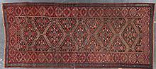 Antique Bijar gallery rug, approx. 5.5 x 12