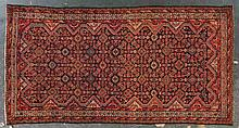 Antique Malayer rug, approx. 5 x 9.8