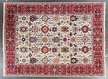 Soumak carpet, approx. 8.10 x 11.8