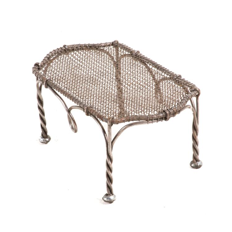 French rope twist metal garden furniture French metal garden furniture