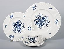 Royal Worcester china partial dinner service
