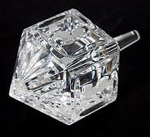 Waterford crystal dreidel