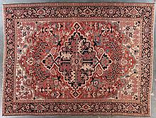 Antique Herez carpet, 9.10 x 12.10