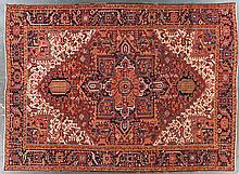 Semi-antique carpet, 9.5 x 13.4