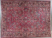 Semi-antique Sarouk carpet, approx. 10.5 x 13.6