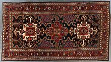 Semi-antique Lori gallery rug, 7.1 x 13