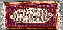 Senneh Kelim rug, approx. 3.7 x 6.7