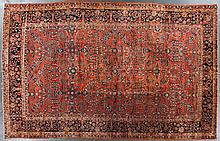 Antique Sarouk carpet, approx. 10.7 x 16.7