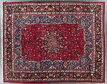 Meshed carpet, approx. 10 x 12.8