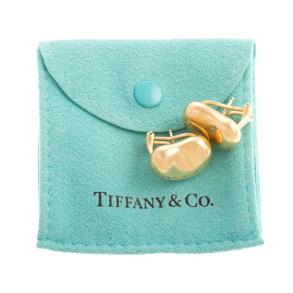 A Pair of Tiffany & Co Bean Earrings in 18K