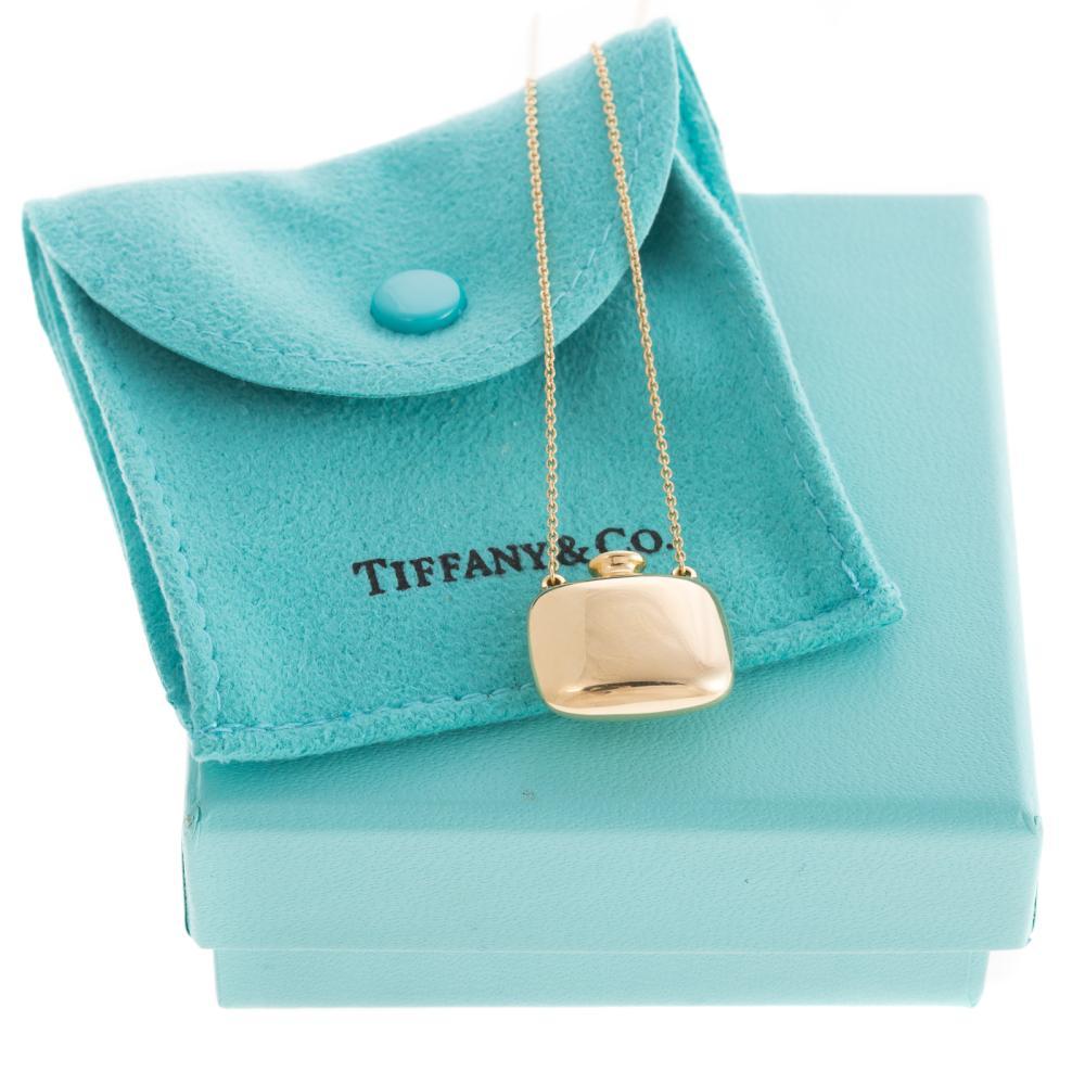 A 18K Elsa Peretti Bottle Pendant by Tiffany & Co.