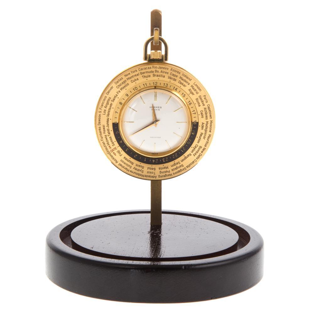 A Hermes Pocket Watch Owned by Sen. John H. Glenn