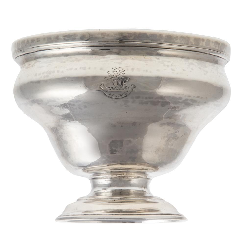 George II Armorial Silver Sugar Bowl