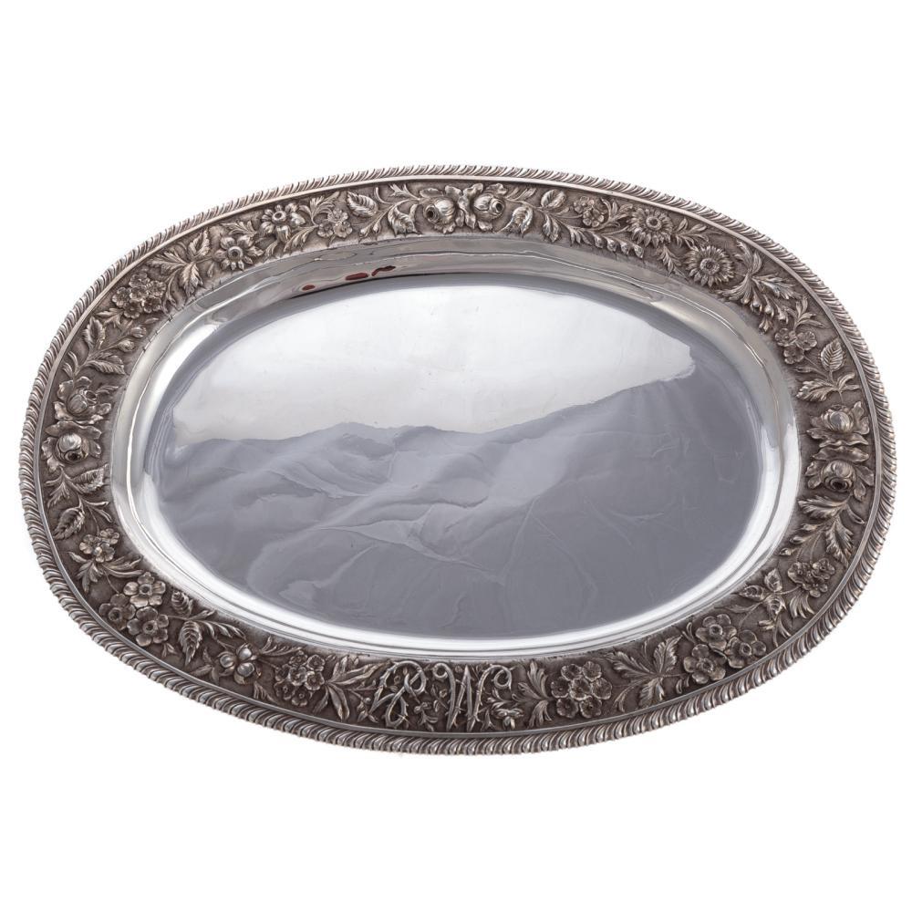 Jacobi & Co. Sterling Oval Platter