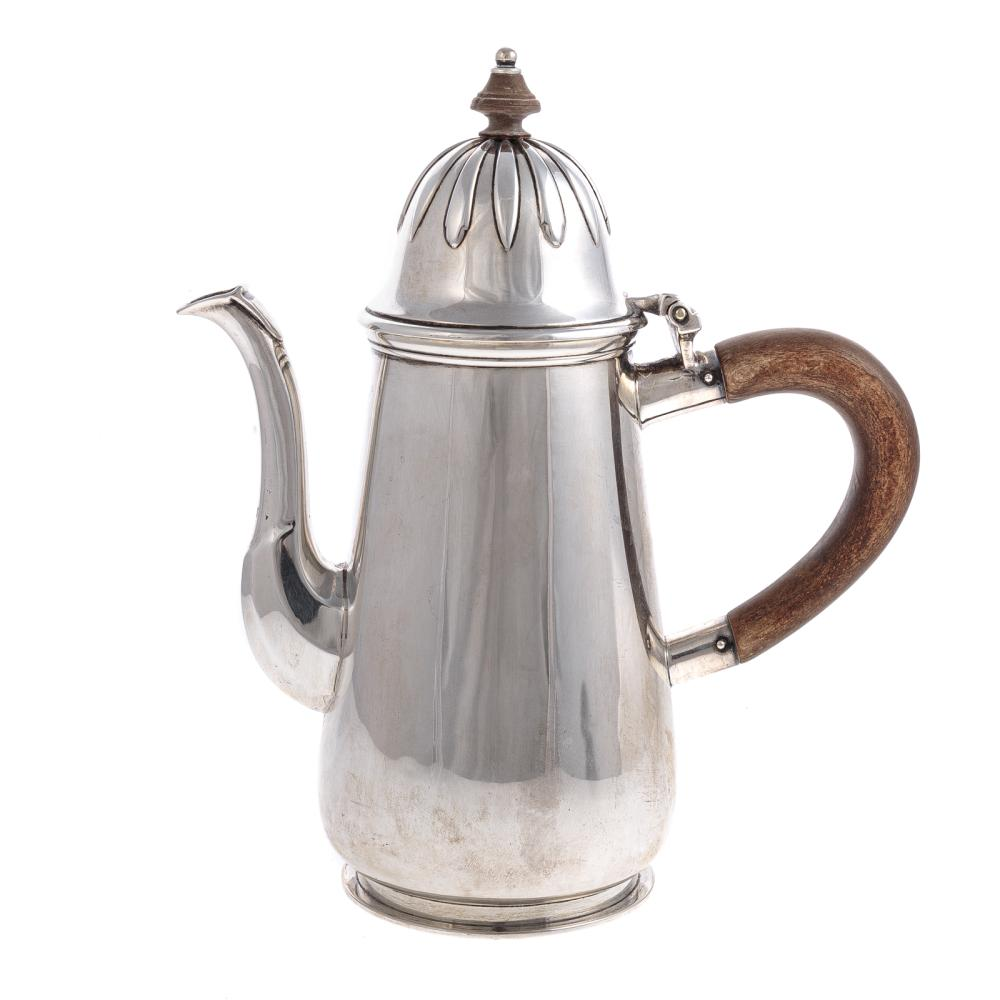 Queen Anne Style Sterling Coffee Pot