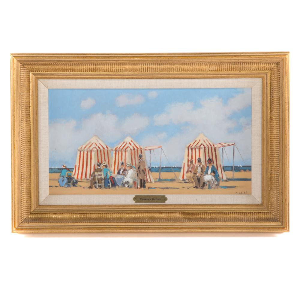 Frederick McDuff. Cabanas by the Sea