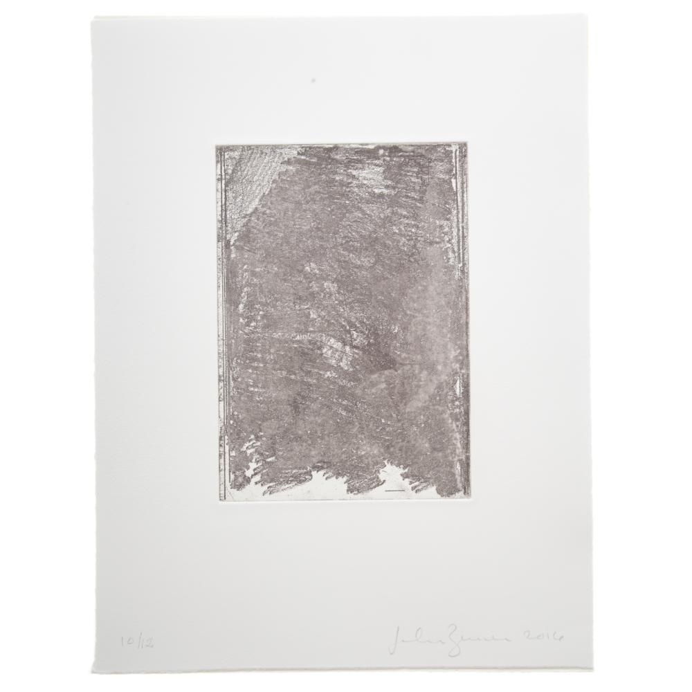 """John Zurier. Two Etchings  from """"Summer Book"""""""