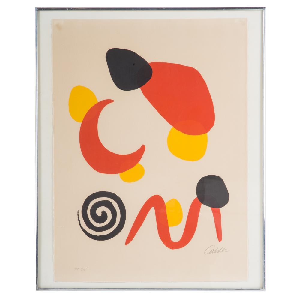 Alexander Calder. Untitled