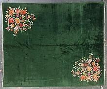 Antique Nichols rug, approx. 8 x 10