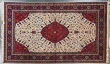 Romanian Tabriz carpet, approx. 10.10 x 18
