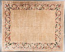 Antique Nichols carpet, approx. 12 x 15