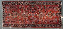 Antique Sarouk runner, approx. 2.11 x 6.4