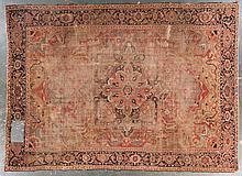Antique Serapi carpet, approx. 9.7 x 13.2