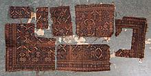 Group of antique Belouchistan fragments