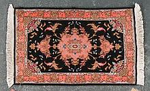 Persian Tabriz scatter rug, approx. 1.11 x 3