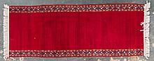 Persian Keshan runner fragment, approx. 3.5 x 8.7