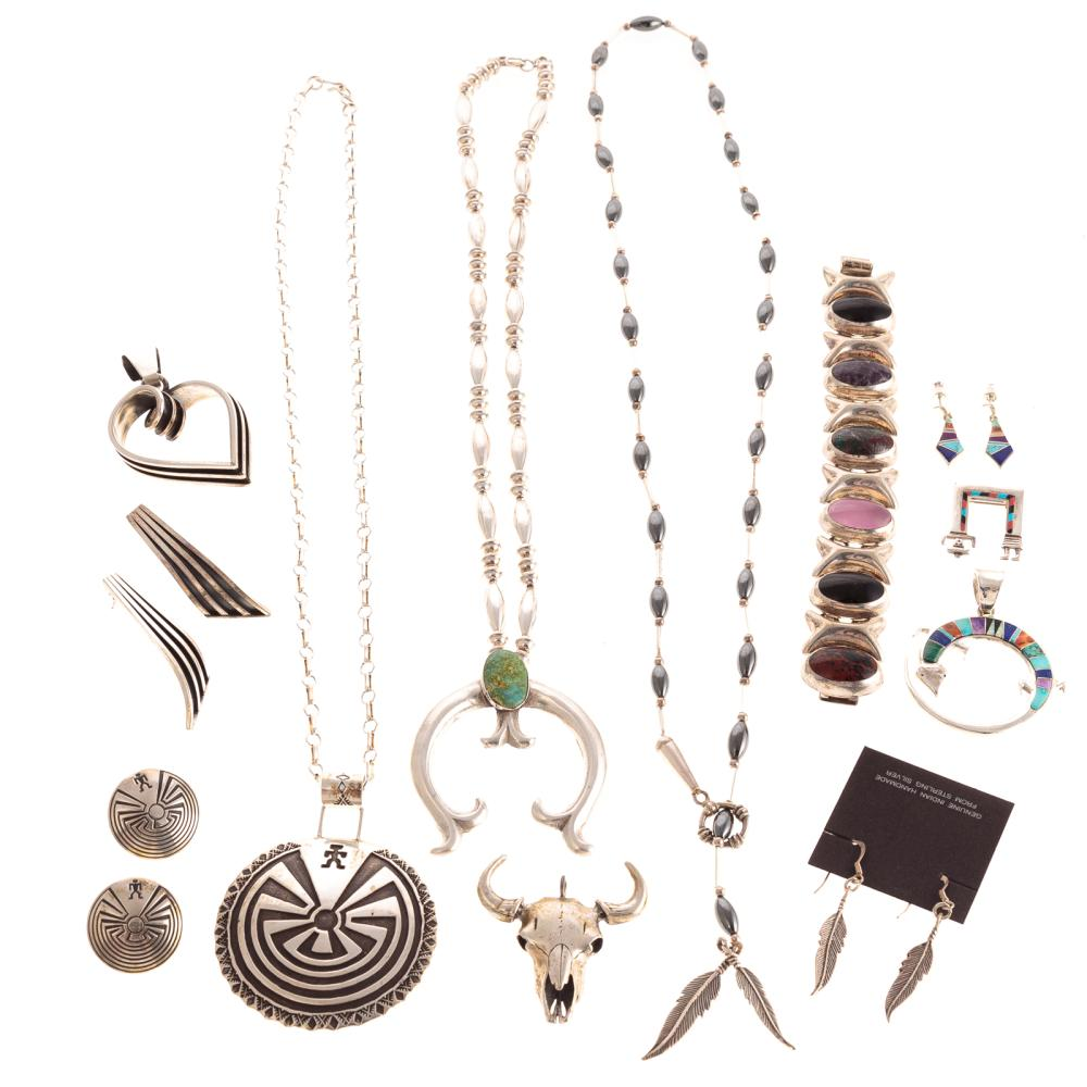 A Collection of Impressive Sterling Jewelry