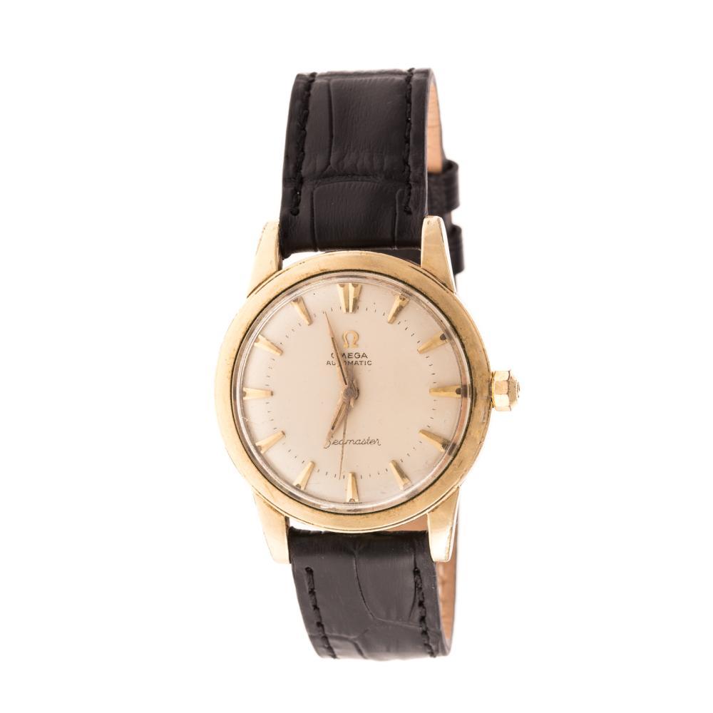 A Gentleman's Omega Seamaster Watch