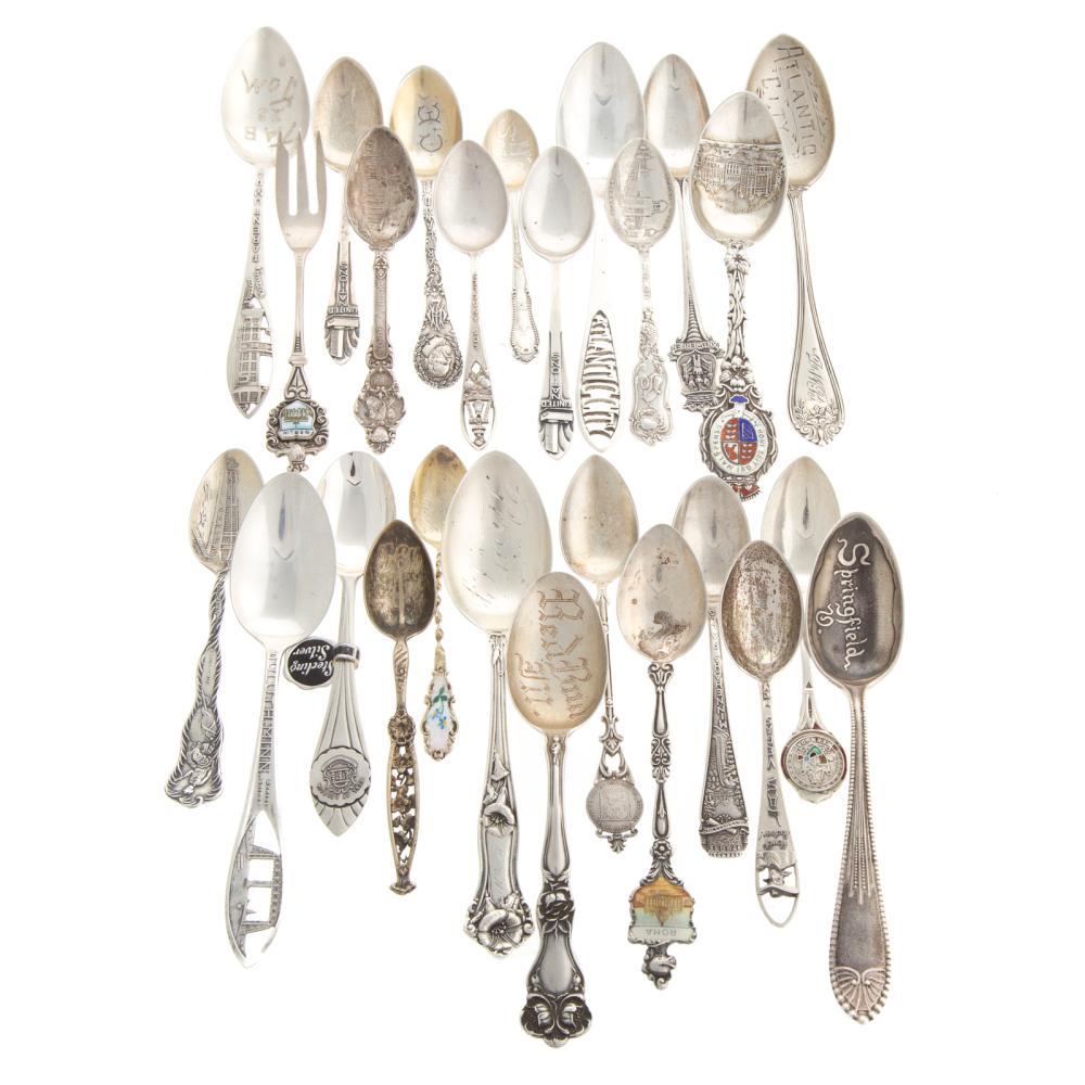 American & Continental Silver Souvenir Spoons