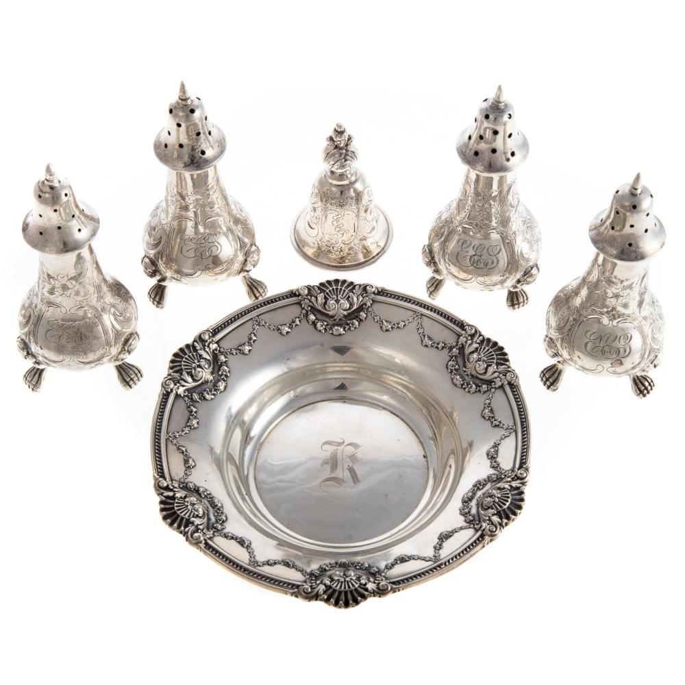 Assorted Sterling Small Table Articles