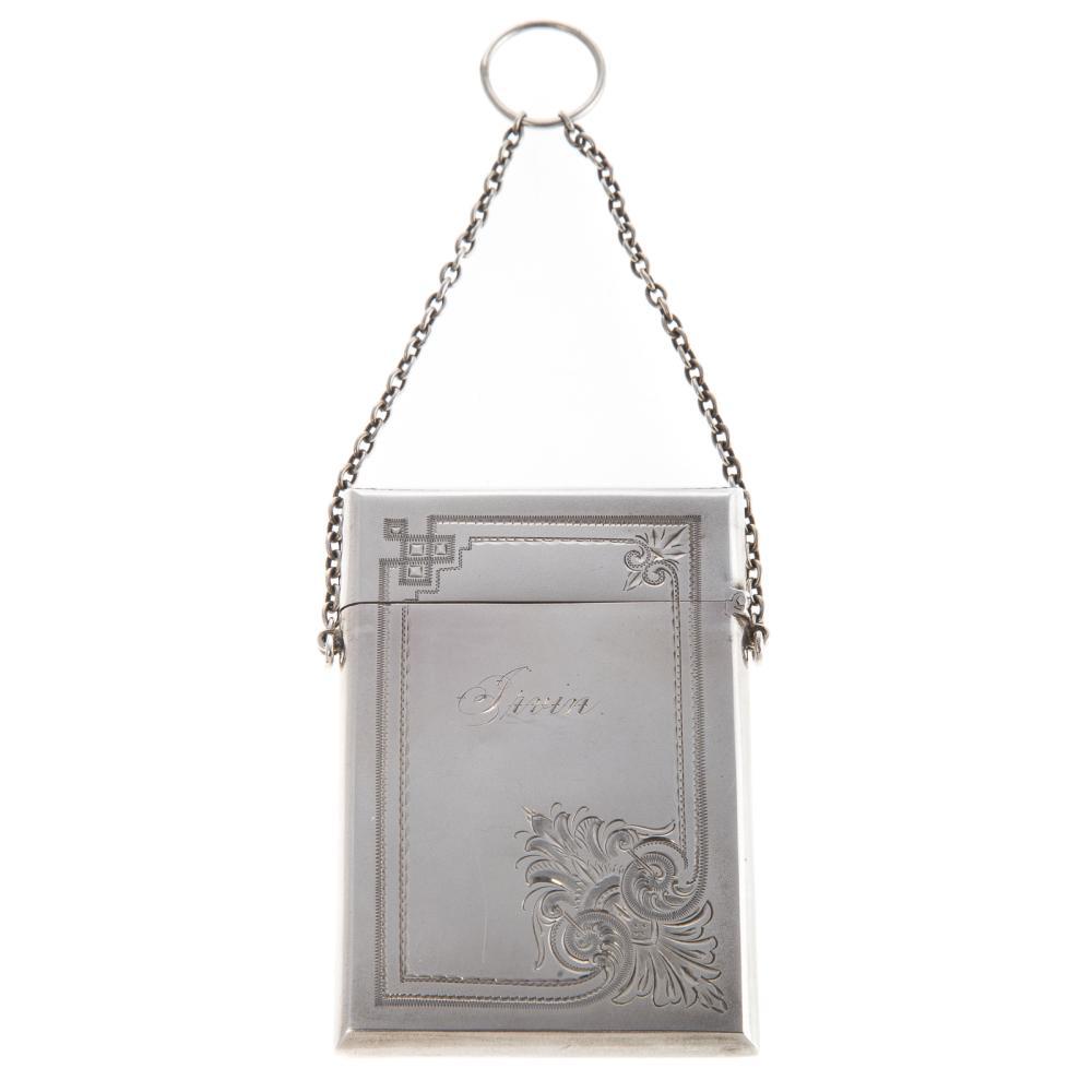 Gorham Sterling Silver Card Case