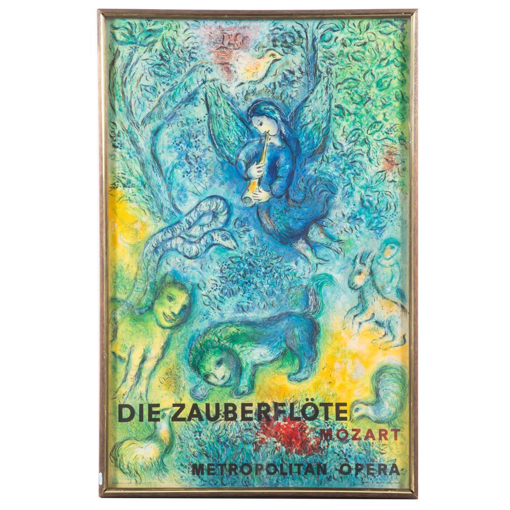 After Marc Chagall. Die Zauberflote, Mozart