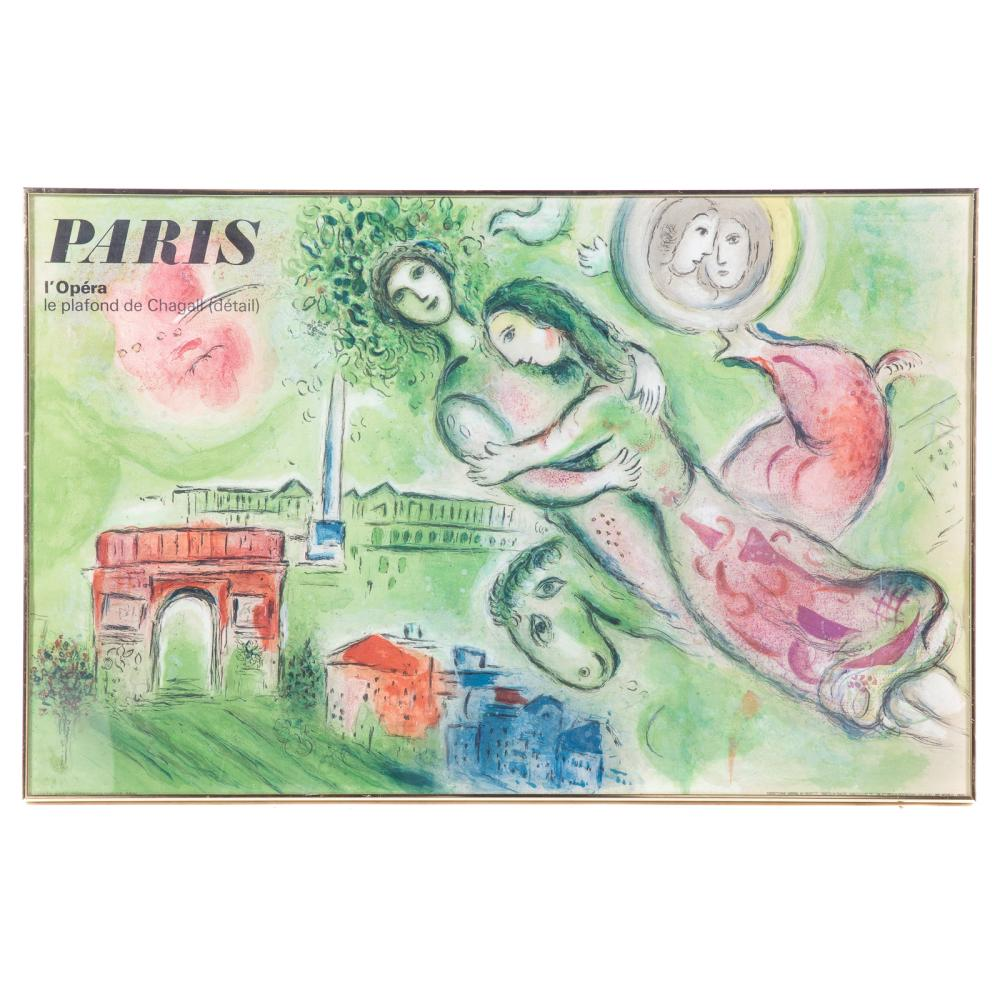 After Marc Chagall. Paris, L'Opera