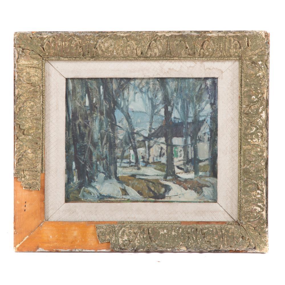 Marion R. Bullard. Snowy Landscape