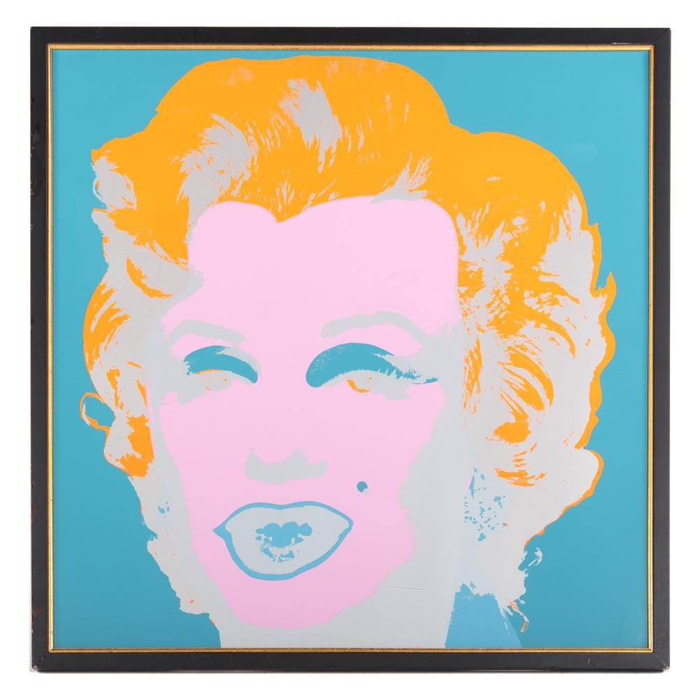 "After Andy Warhol. ""Marilyn Monroe"""